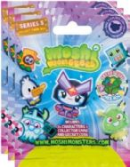 Moshi Monsters Moshlings Blind Foil Packs x 3 Bags Series 5